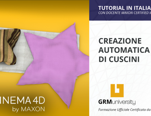 Come creare cuscini con Cinema 4D