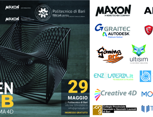 3a ediz. dell' OpenLAB Cinema 4D: Digital Transformation