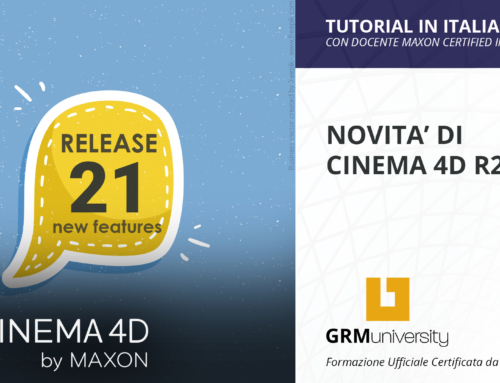 Scopri le ultime novità di Cinema 4D R21 !