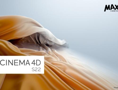 Cinema 4D S22. Novità e recensione